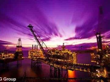 Buzzard Platform UK North Sea