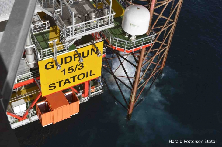 Statoil's Gudrun Platform Comes Online