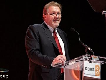 BG Group's Outgoing Chief Executive Chris Finlayson