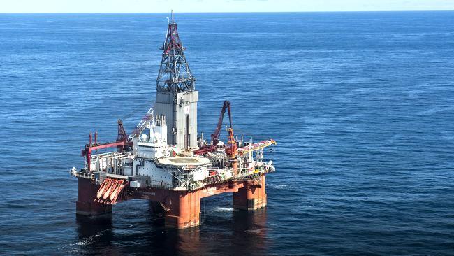 Semisubmersible Drilling Rig Seadrill West Hercules