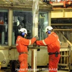 Statoil Aker Drill crew at work