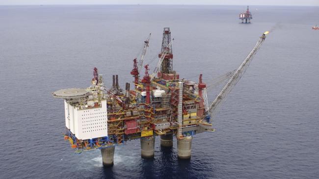Statoil Offshore Oil Platform Gullfaks A