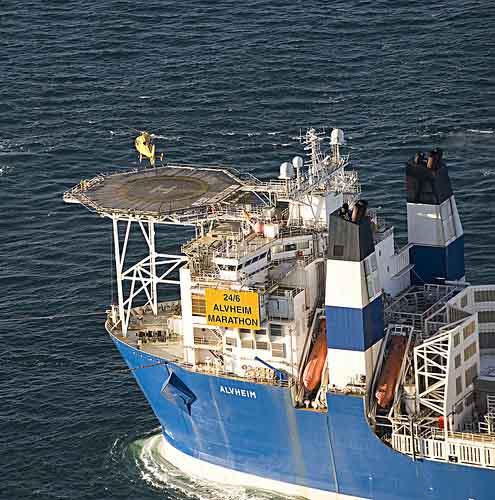 Marathon Oil Norwegian Alvheim FSPO