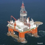 seadrill's west aquarius semi submersible drill platfrom