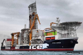 A Drillship, The Stena IceMAX