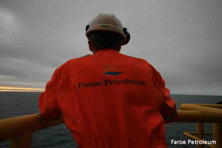 Faroe Petroleum Offshore Oil Worker
