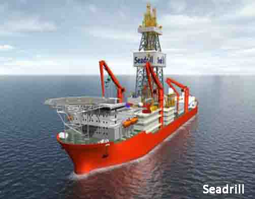 Seadrill's West Dorado Drill Ship Currently Under Construction