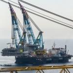 Statoil's Valemon Platform Topside Installation