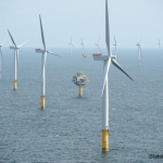 Statoil's Sheringham Shoal Wind Farm Offshore Norfolk UK