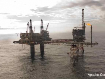 Apache Corp's North Sea Beryl Alpha Platform