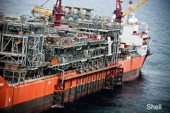 Shell' FPSO The Bonga, Offshore Nigeria
