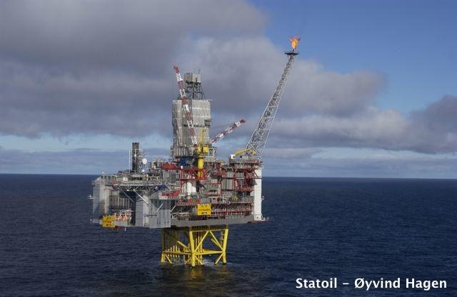 Statoil's Kvitebjørn Platform