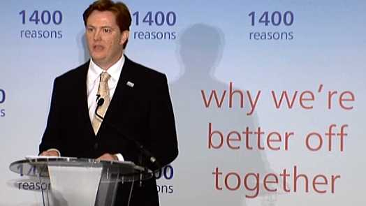 Danny Alexander MP Speaking At The No Campaign