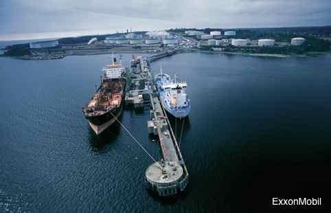 ExxonMobil's Slagen Plant