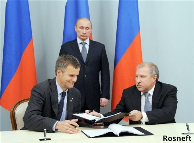 President Putin At Signing of Statoil Rosneft Cooperation Agreement
