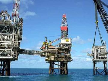 BP's Bruce Platform - Rhum Field's Tieback