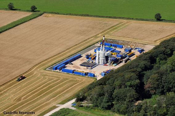 A Cuadrilla Resources UK Fracking Site