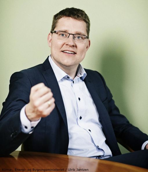 Danish Energy Minister Rasmus Petersen
