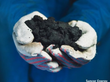 Oil Sands, A Mixture Of Bitumen, Sand, Water and Clay