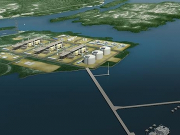 BG Group's Proposed Pacific Coast LNG Plant