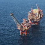 BG's North Sea, North Everest Platform