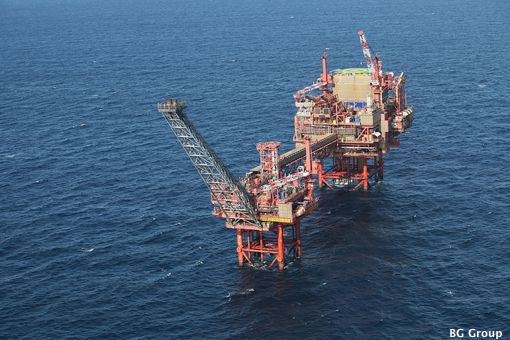 BG's North Sea, North Everest Platform