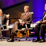 Helge Lund (centre) During A Recent Gas Industry Debate