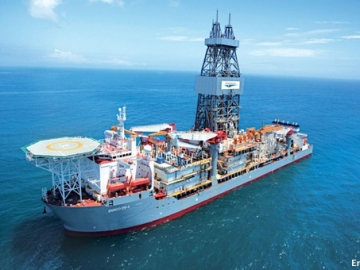 Ensco's DS-4 Deepwater Offshore Drill Ship