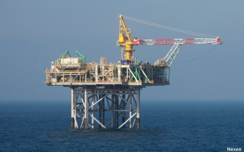 Nexen's Recently Finished North Sea Golden Eagle Platfrom