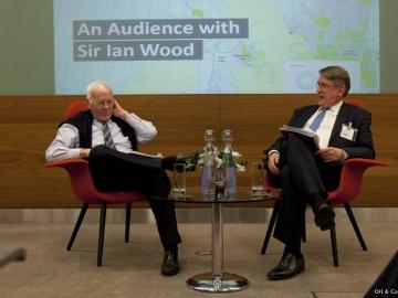 Oil & Gas UK CEO Malcolm Webb Talking To Sir Ian Wood