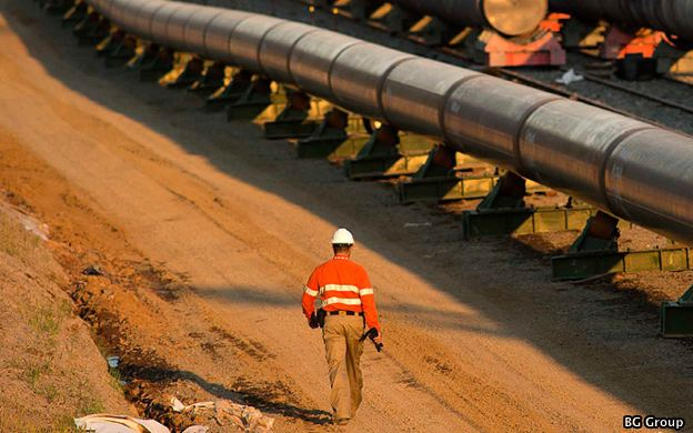 BG Group's Queensland LNG Pipeline