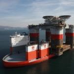 Chevron's Jack St Malo During Transportation On Dockwise Vanguard