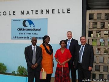 CNR's VP & MD Of International Operations