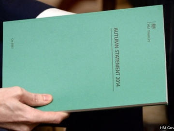 UK Chancellor George Osborne Holds The Autumn Statement