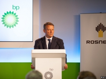BP Chairman Carl-Henric Svanberg During Talks With Rosneft