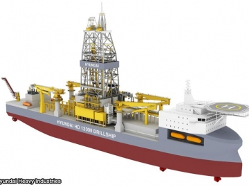 Hyundai Heavy Industries DH12000 Concept Drillship