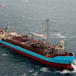 The Mearsk Operated Curlew FPSO