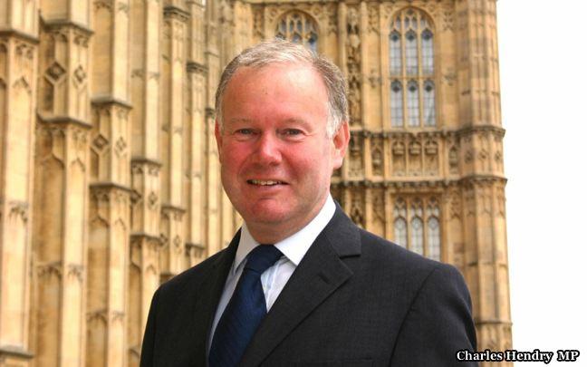 Former UK Energy Minister Charles Hendry