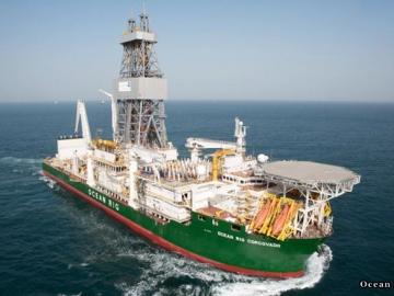 Ocean Rig's Drill Ship Corcovado
