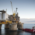 Statoil's Troll B Platform- One Of Many Evacuated Due To Storm Weather