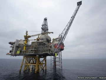 Statoil's Valemon Field Is Brought On-Stream
