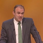 UK Minister for Energy and Climate Change Ed Davey