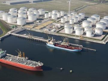Vopak's Westpoort Oil Terminal
