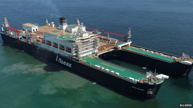 Allseas' World Record Holder- Pieter Schelte, Decommissioning Vessel