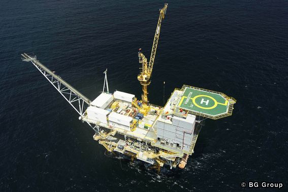BG Group's Poinsettia Platform, Trinidad and Tobago
