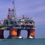 BP Operated Thunder Horse Semi-Submersible Platform, Gulf of Mexico, USA