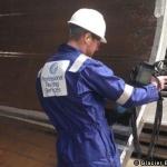 A Glacier Energy Services NDT Technician