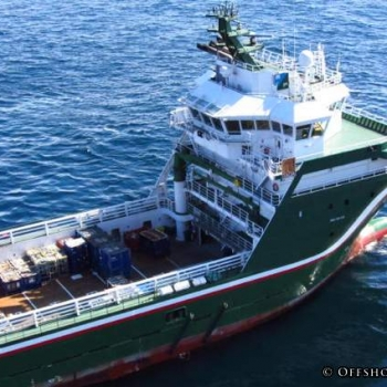Gulfmark's ENEA Platform Supply Vessel