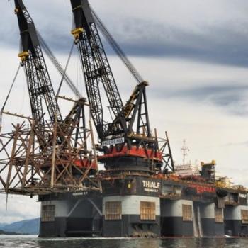 Heerema's Deepwater Construction Vessel, The Thialf