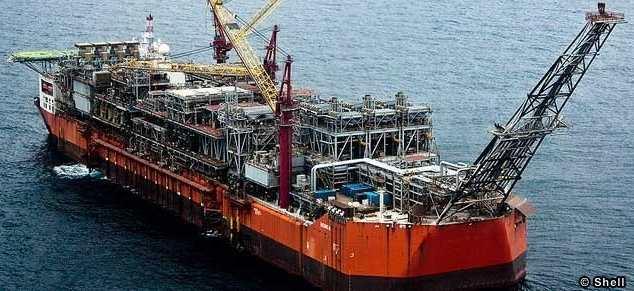 Image result for Shell Bonga FPSO